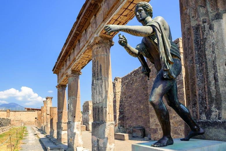 Excursión a Pompeya y el Vesubio