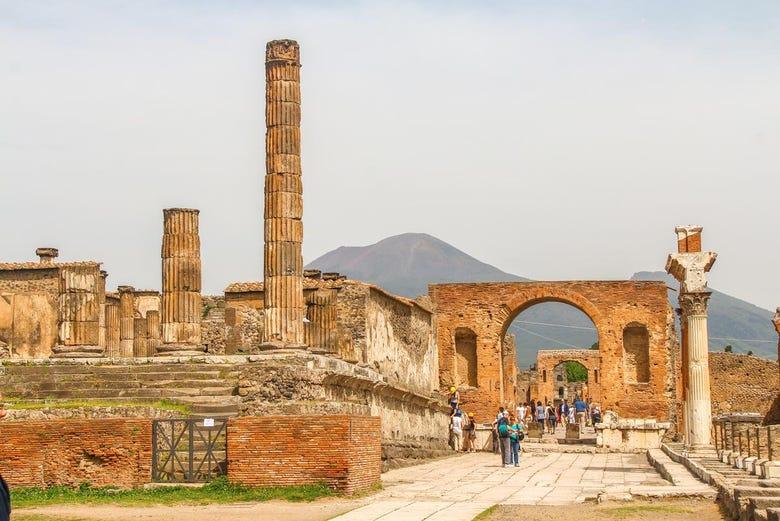 ,Excursión a Pompeya