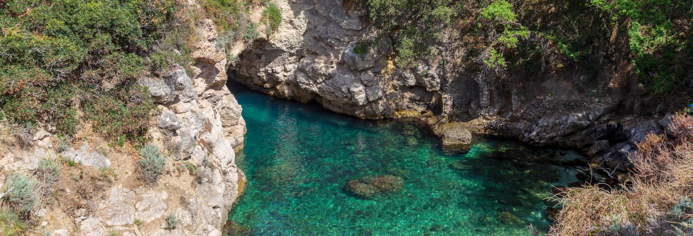 Paseo en barco por la costa de Sorrento