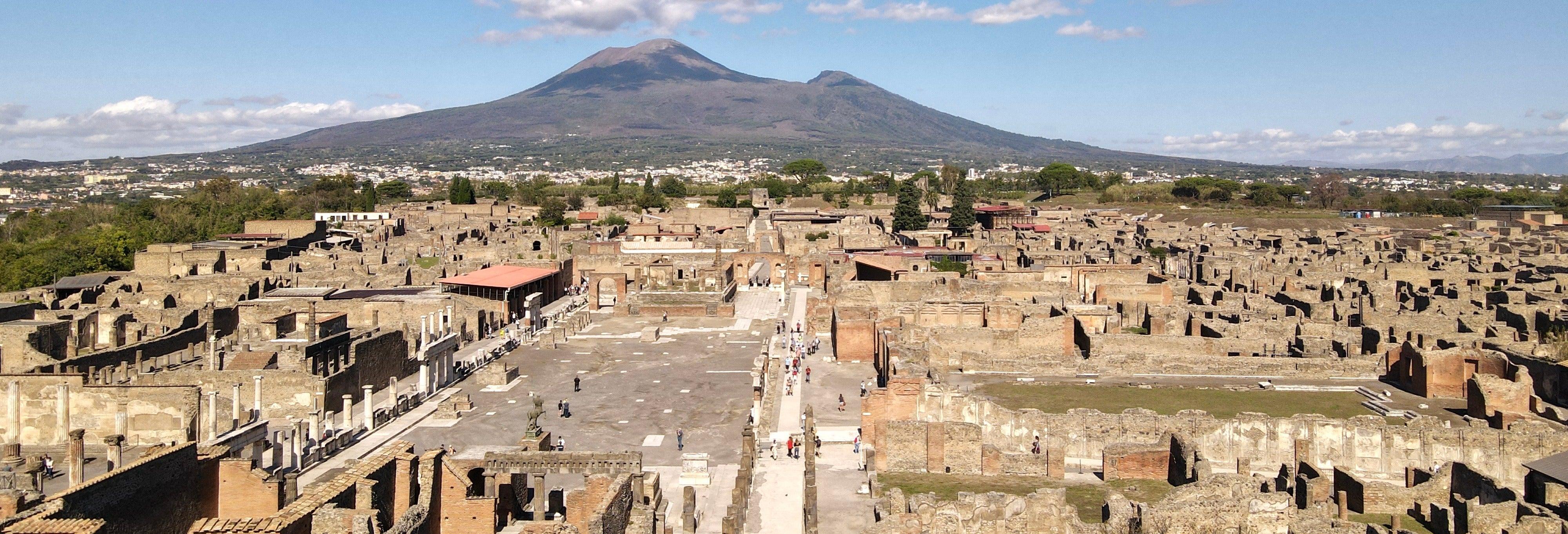 Paseo en helicóptero por Capri, Pompeya y el Vesubio