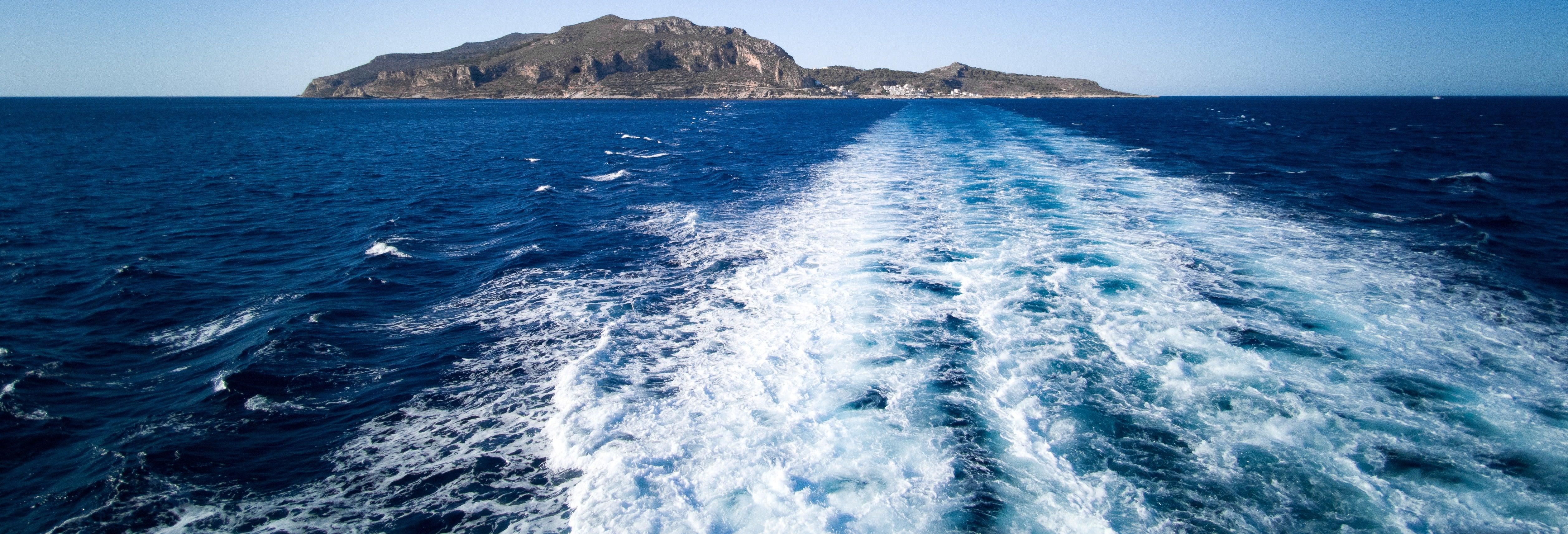 Excursão a Favignana e Levanzo de barco