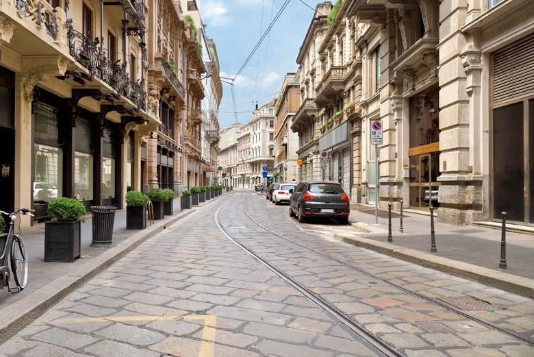 Excursión a Milán en tren de alta velocidad