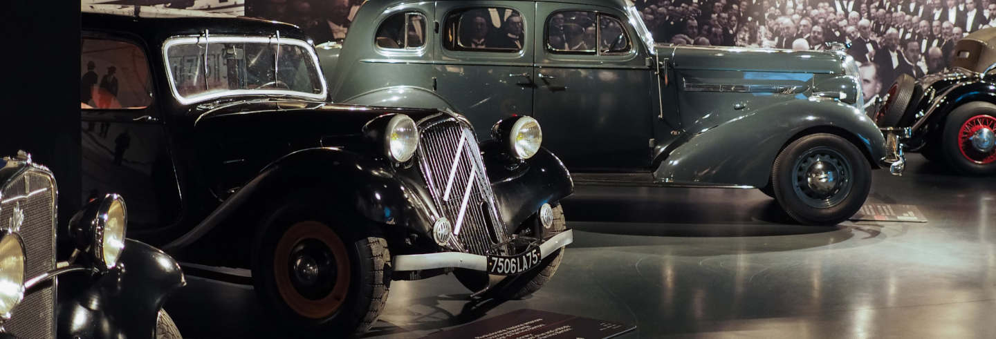 Visita guidata del Museo dell'automobile