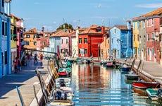 Escursione alle isole di Murano e Burano