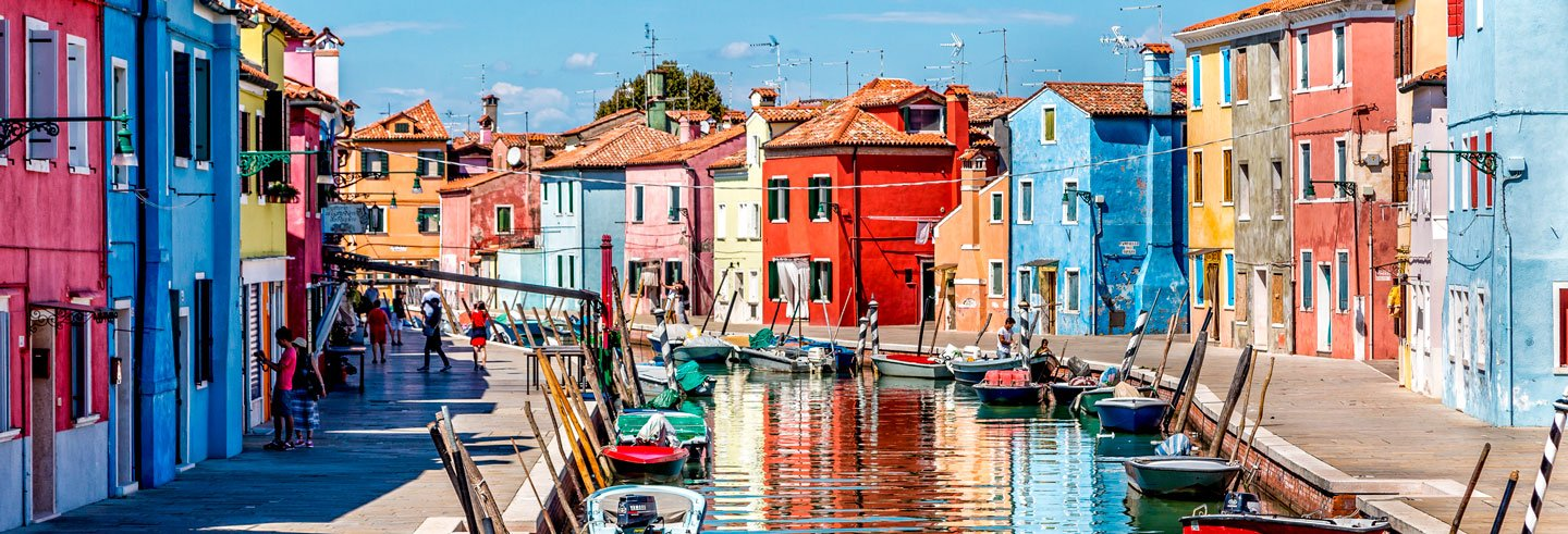 Excursion à Burano et Murano avec un guide