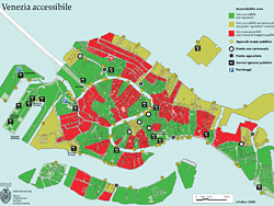 Accessible Venice Map