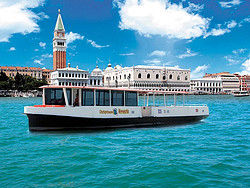 Sightseeing boat in Venice