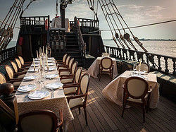 Main deck in summer