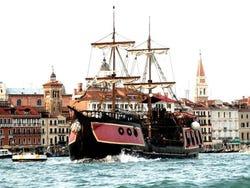 Venetian Galleon next to St Mark's