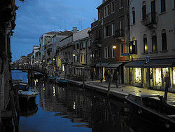 Passing through Venice's most mysterious streets