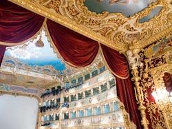 Inside la Fenice Theatre
