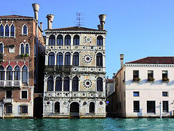 Canalside buildings in Venice