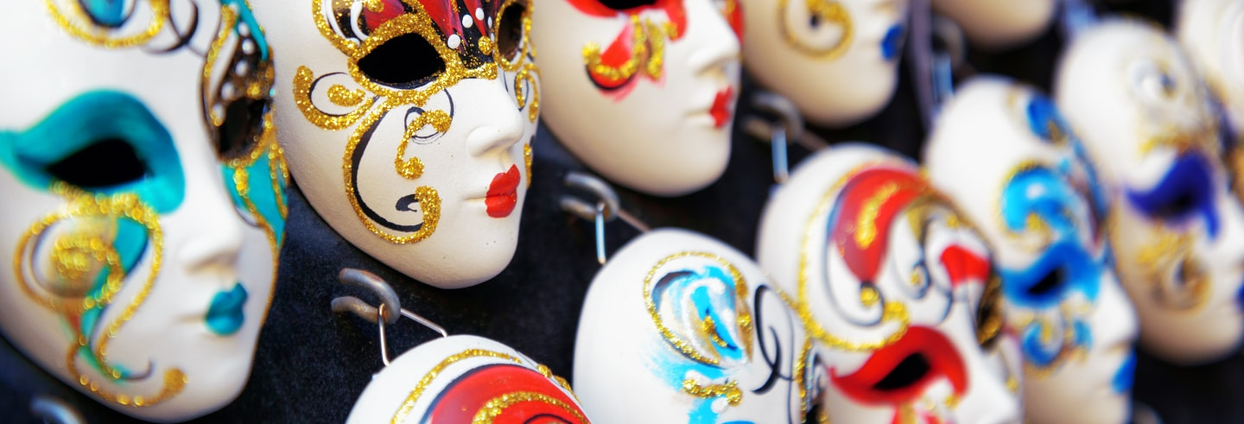 Taller de máscaras venecianas