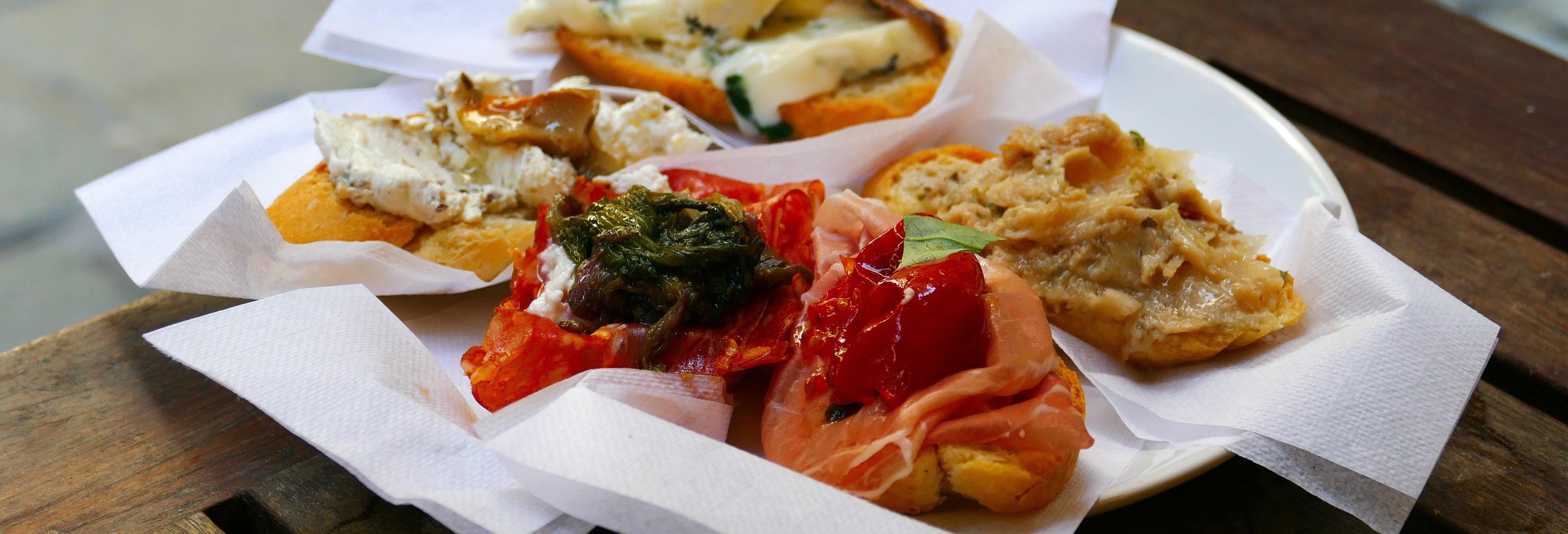 Tour gastronômico por Veneza