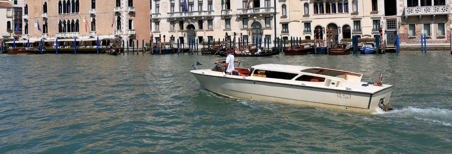 Venice Watertaxi Airport Transfer