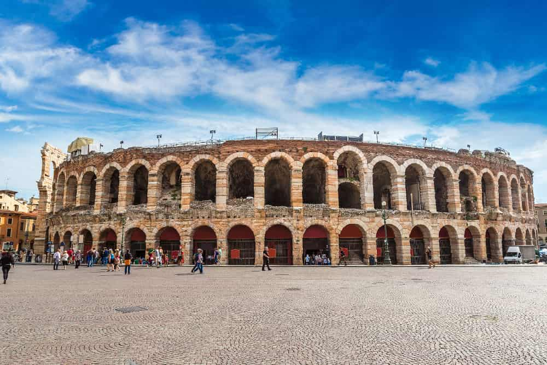 Visita guiada por la Arena de Verona