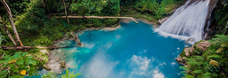 Cascadas del río Dunn y Agujero Azul