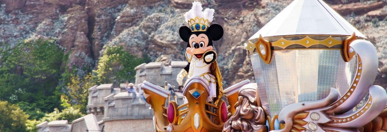 Ingresso para a Disneyland Tokyo