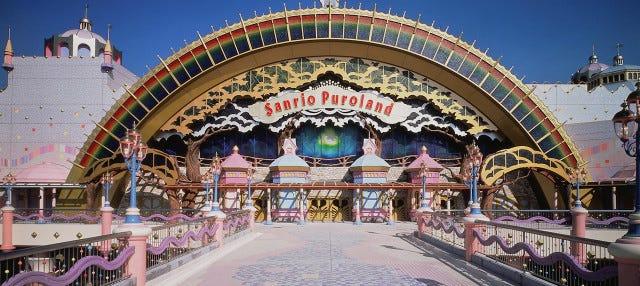 Entrada a Sanrio Puroland