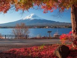 Paisaje alrededor del monte Fuji