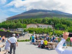 La quinta estaicón del monte Fuji