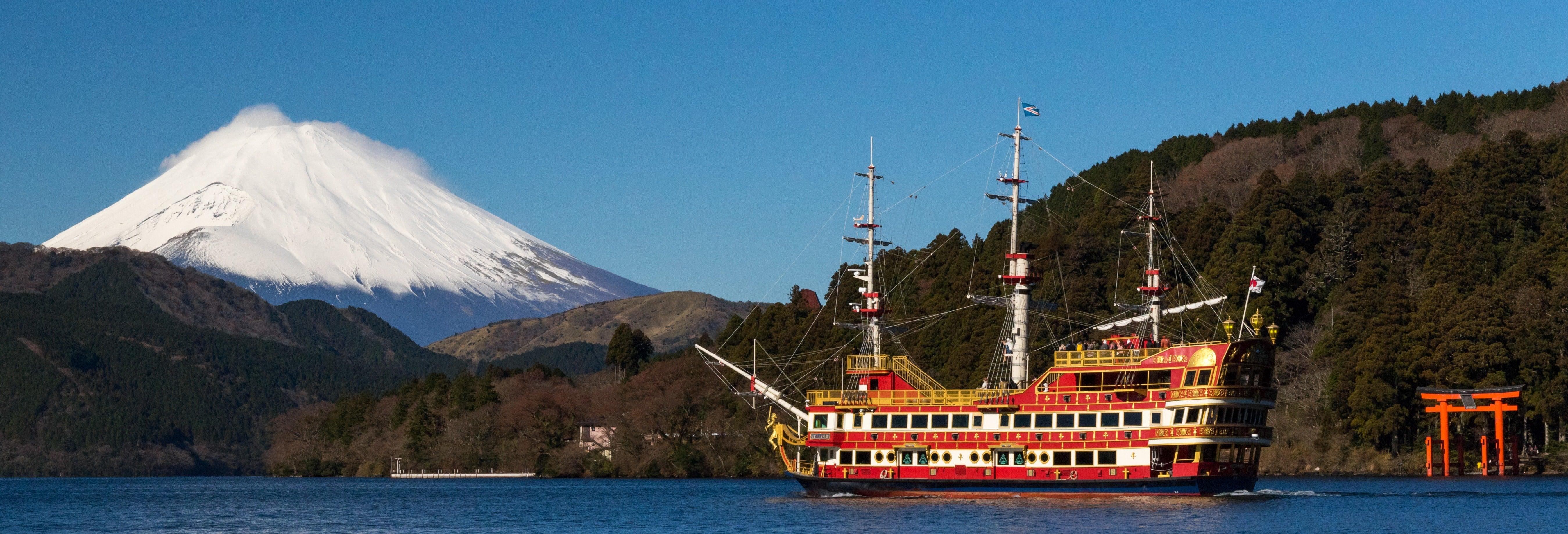 Excursion au Lac Ashi + Ōwakudani + Gotemba Premium Outlets