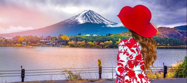 Excursión al Monte Fuji y el lago Kawaguchi