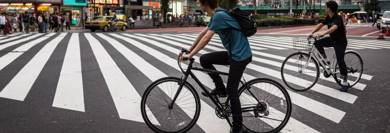 Tour di Tokyo in bici elettrica