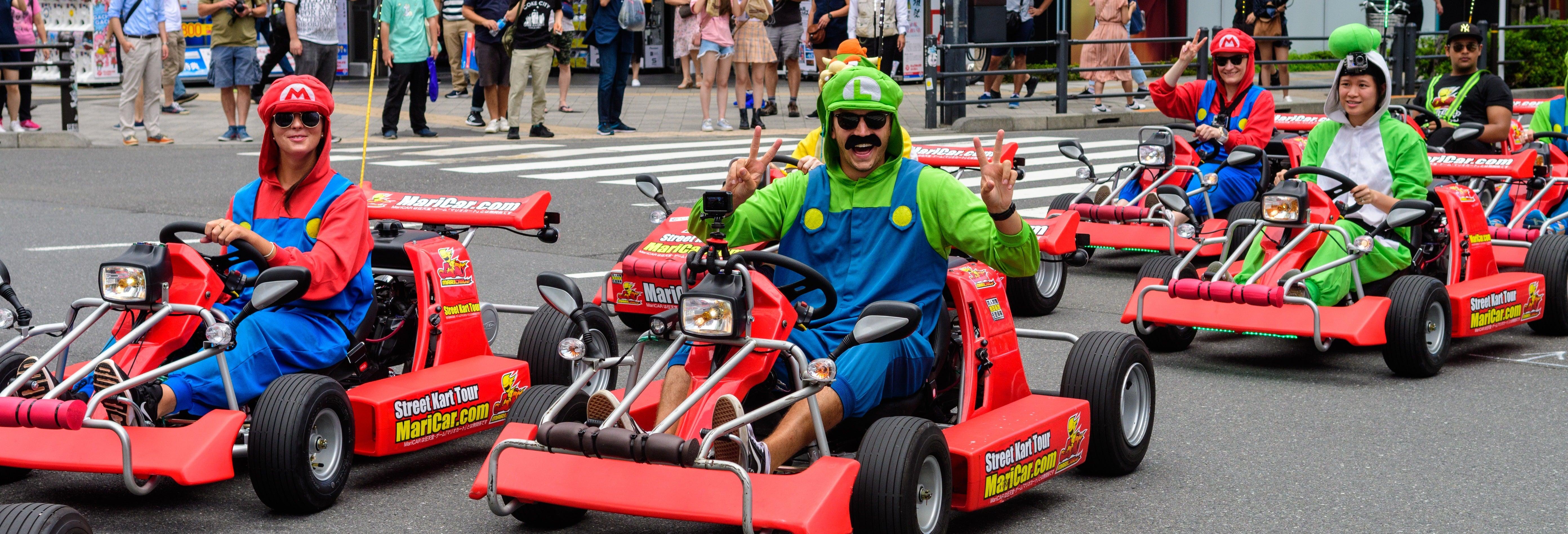 Tour de kart por Tóquio