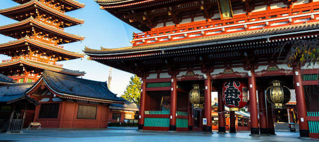 Visita guiada por el templo Sensô-Ji