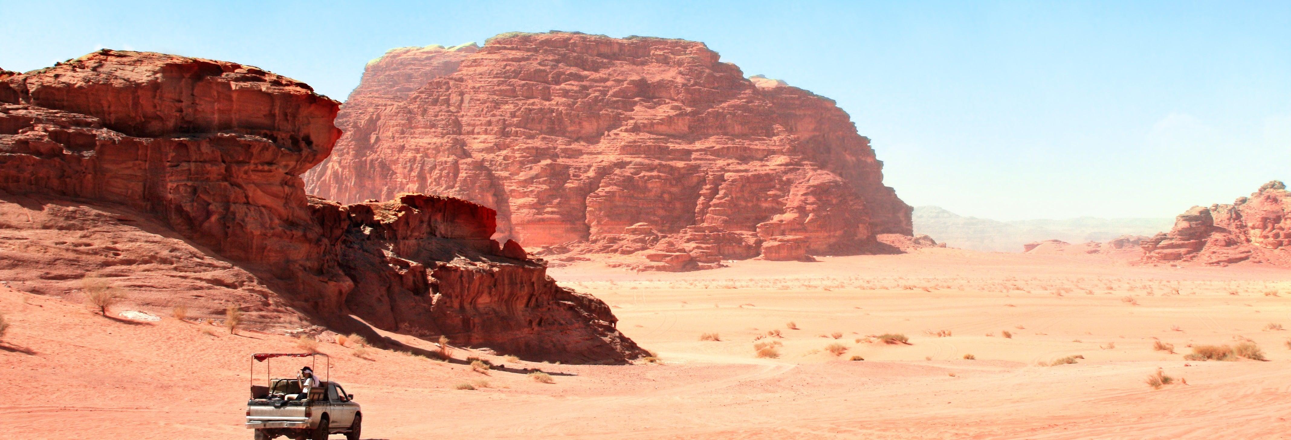 Tour por Aqaba + Jipe por Wadi Rum