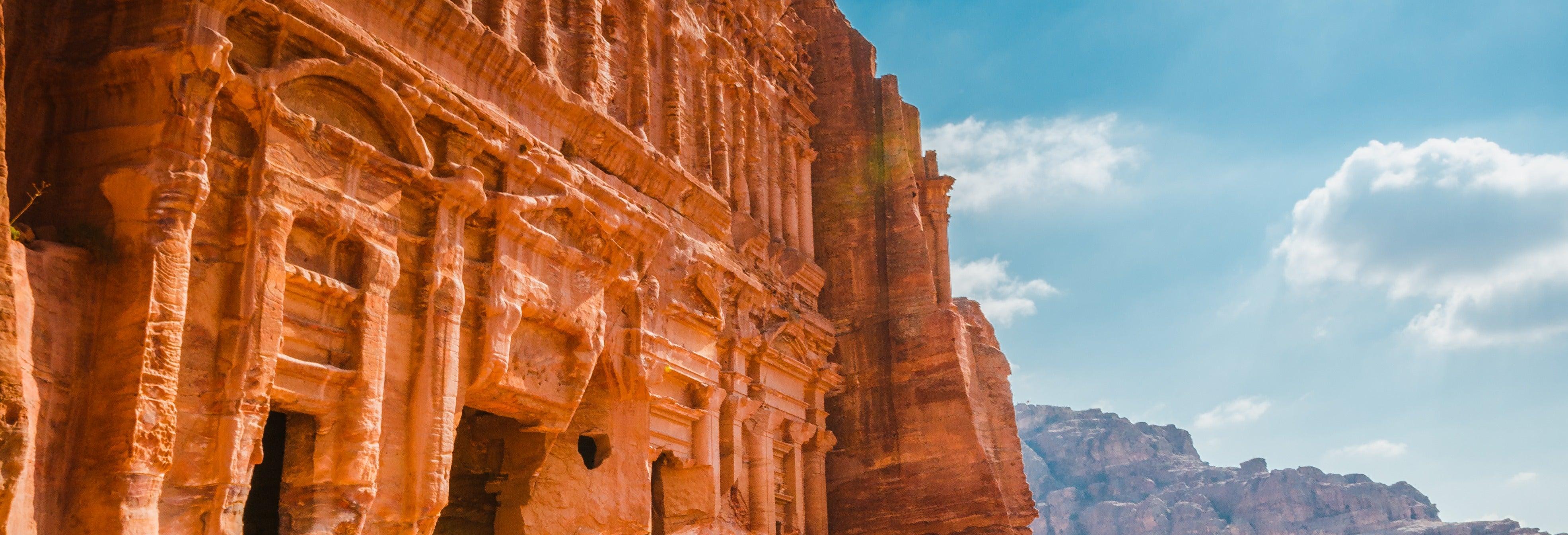 Excursion à Pétra + Jeep dans Wadi Rum