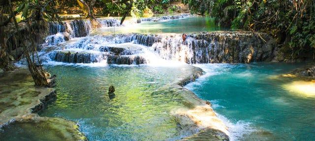 Excursión a las cataratas Kuang Si por libre