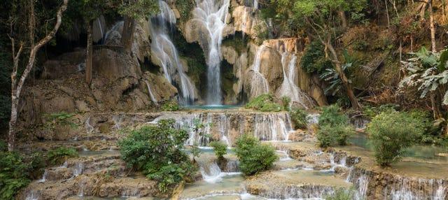 Excursión a las cataratas Kuang Si