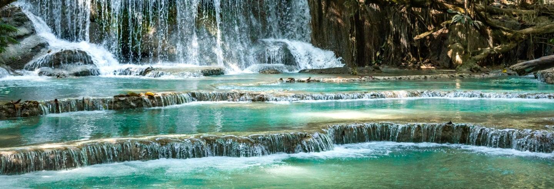 Excursion privée aux chutes de Kuang Si