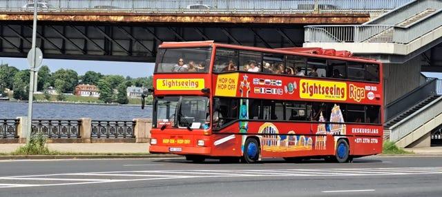 Autobús turístico de Riga
