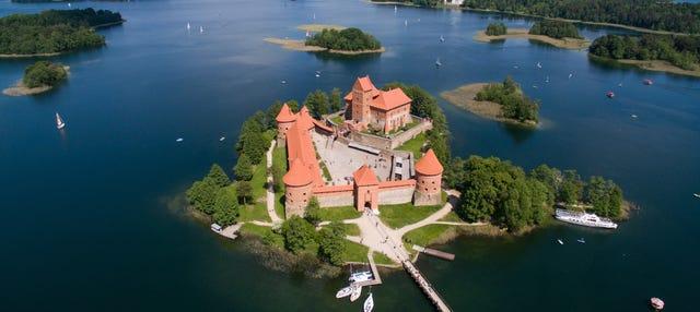 Tour en kayak por Trakai