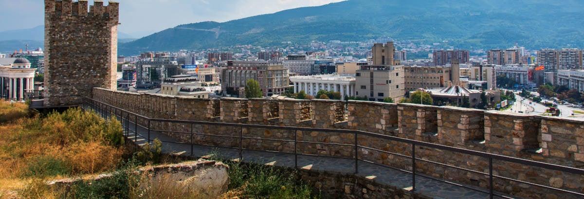 Tour panorámico por Skopje