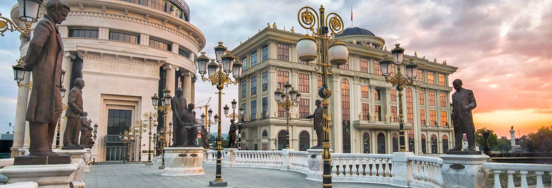 Visita guiada por Skopje