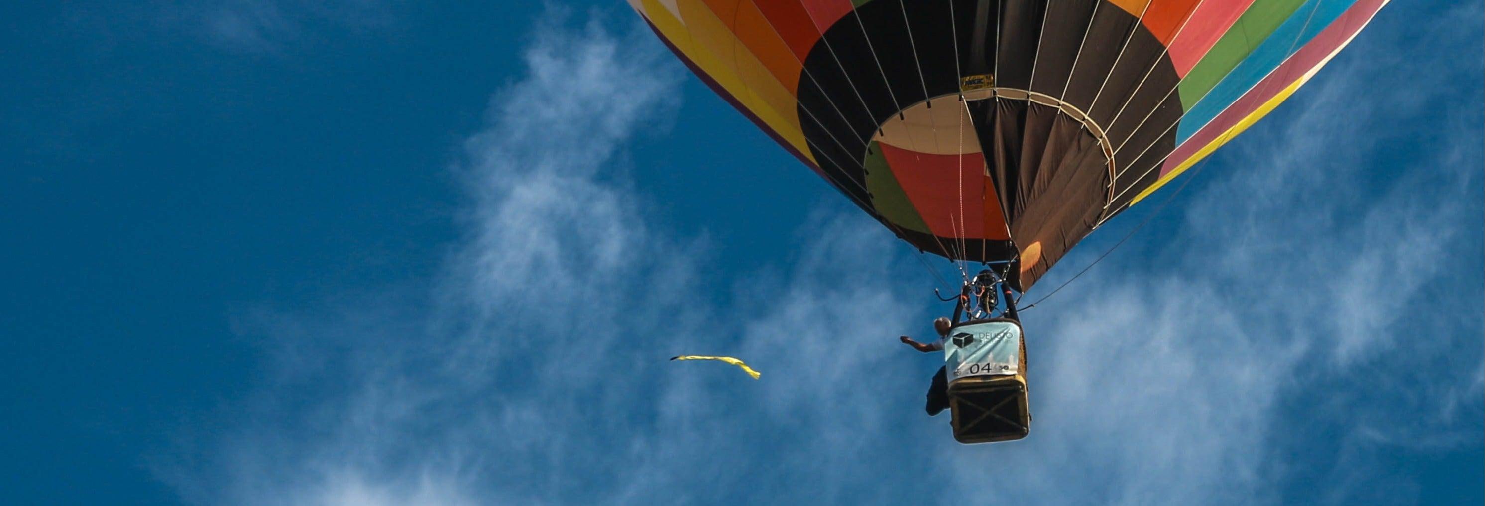 Passeio de balão por Kuala Lumpur
