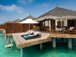 Islas y resorts im genes y fotos de maldivas for Islas maldivas hoteles en el agua
