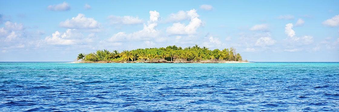 Excursión a una isla desierta