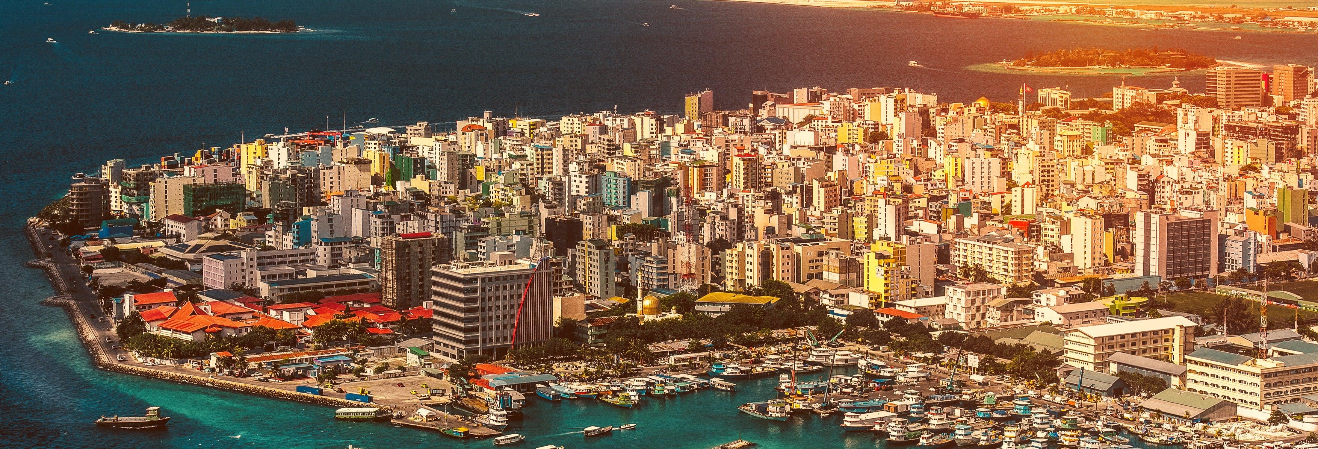 Visita guiada por Malé + Excursão a Villimale