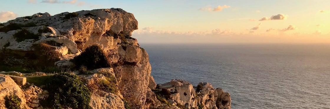 Acantilados de Dingli en Malta