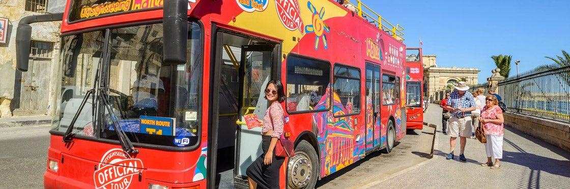 Autobus turistico di Malta