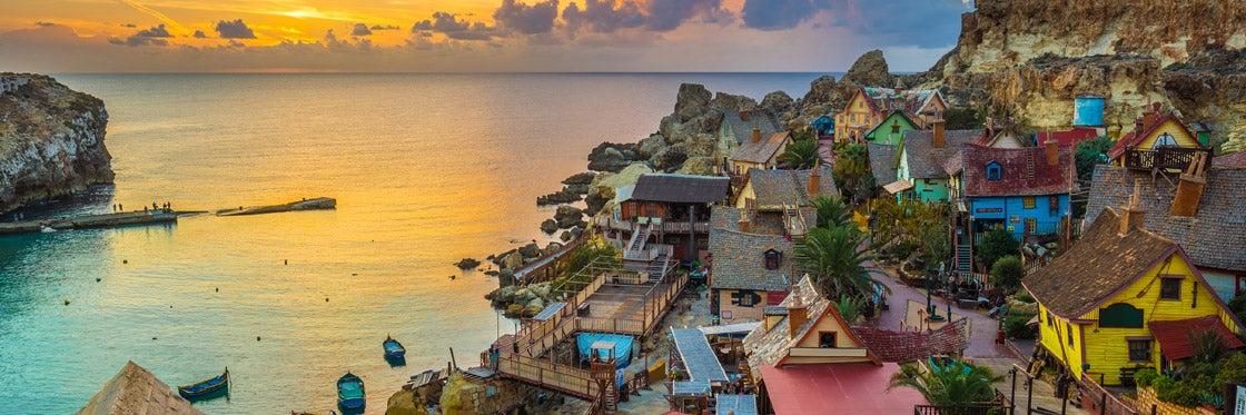 Les villes et villages de Malte