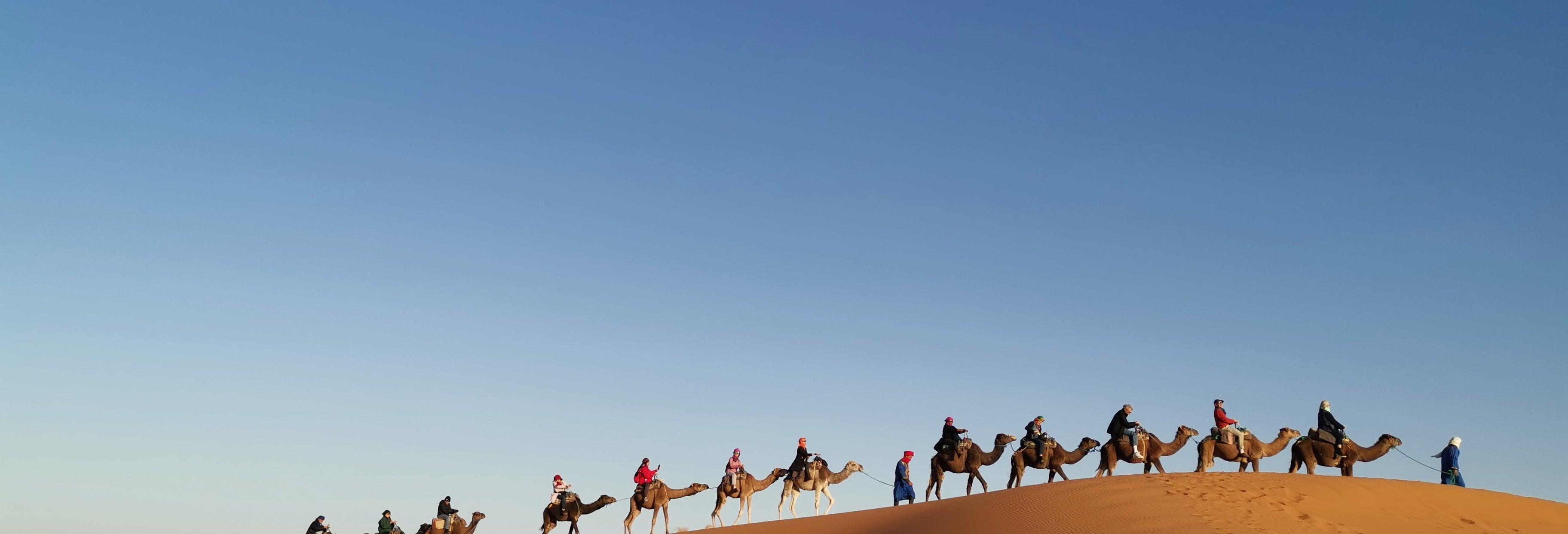 4 jours à Merzouga terminant par Marrakech
