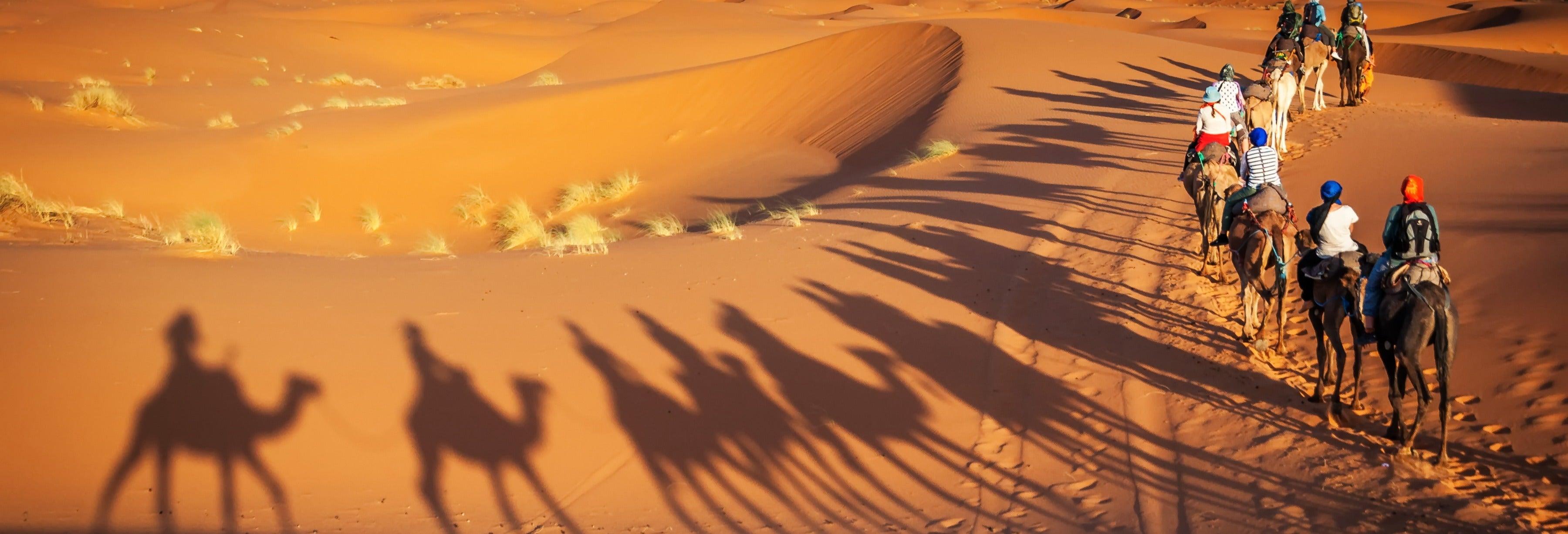 Excursão de 2 dias ao deserto de Merzouga finalizando em Marrakech