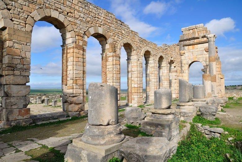 ,Excursión a Volubilis,Excursion to Volubilis,Excursión a Meknes,Excursion to Meknes