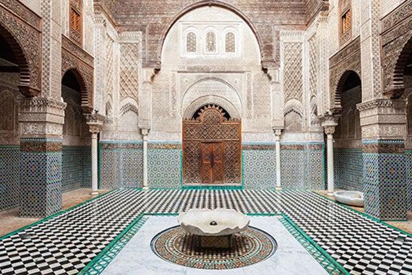Resultado de imagen de Fez, Marruecos Madrasa de Al Attarine
